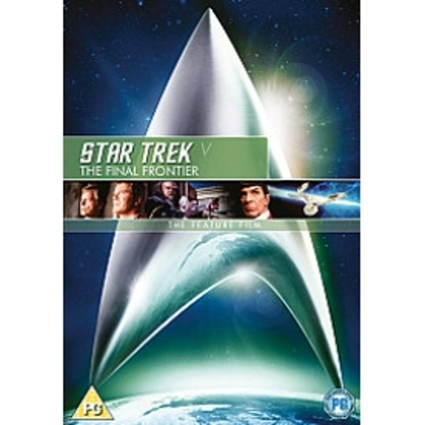Star Trek 5 The Final Frontier DVD