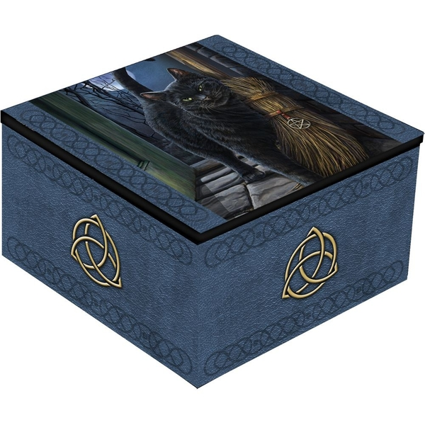 A Brush With Magick Cat Mirror Box