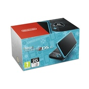 Nintendo 2DS XL Handheld Console Black & Turquoise UK Plug