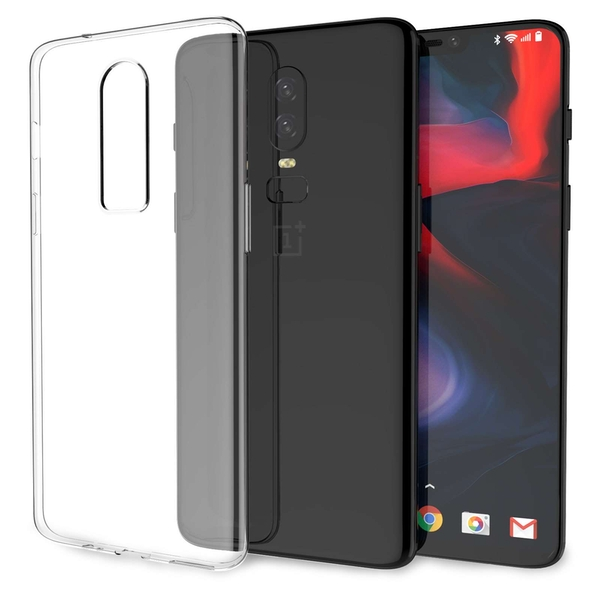 CASEFLEX ONEPLUS 6 ULTRA THIN TPU GEL - CLEAR