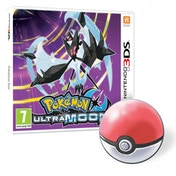 Pokemon Ultra Moon + Pokemon Pin Badge 3DS Game
