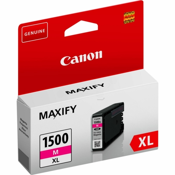 Canon 9194B001 (PGI-1500 XLM) Ink cartridge magenta, 780 pages, 12ml