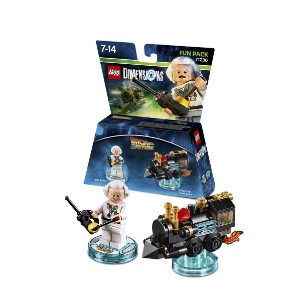 Doc Brown (Back To The Future) Lego Dimensions Fun Pack