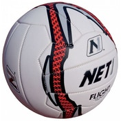 NET1 Flight Netball White Grey and Red 4