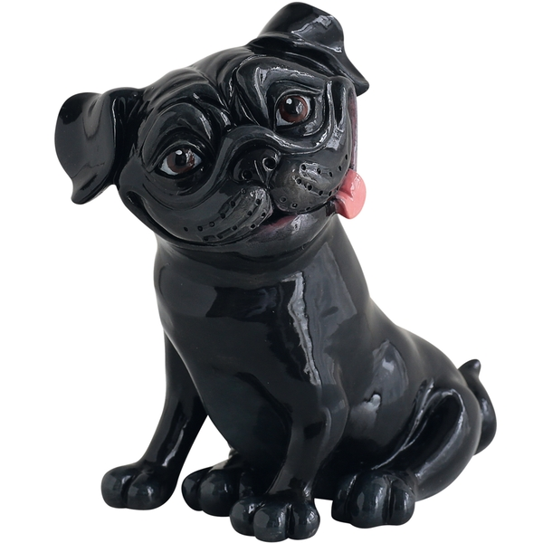 Little Paws Figurines Pete - Pug Black