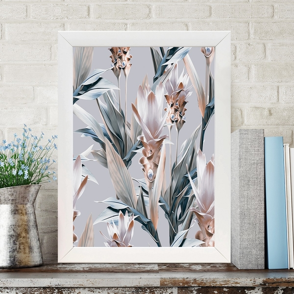 BC633575945 Multicolor Decorative Framed MDF Painting