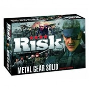 Metal Gear Solid Risk - Collector's Edition Board Game