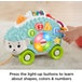 Fisher-Price Linkimals Interactive Happy Shapes Hedgehog Toy with Lights and Sounds - Image 4