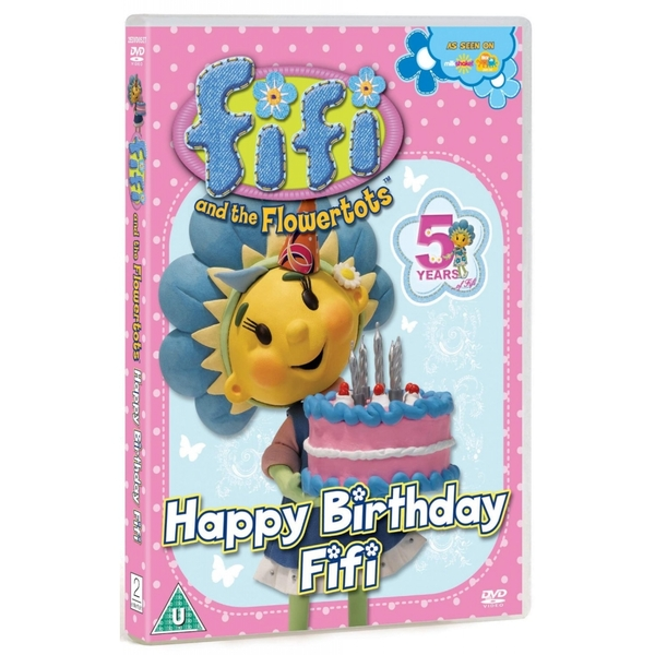 Fifi and the Flowertots - Happy Birthday Fifi DVD