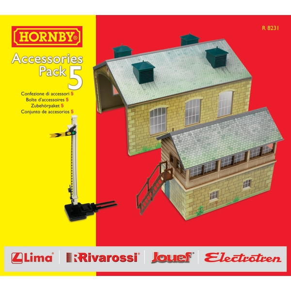 Hornby TrakMat Building Accessories Pack 5