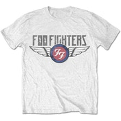 Foo Fighters - Flash Wings Men's X-Large T-Shirt - White