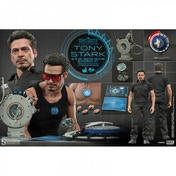 Hot Toys Marvel 1:6 Tony Stark with Arc Reactor Creation Accessories Set