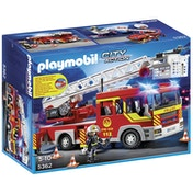Playmobil Fire Engine Ladder Unit with Lights and Sound