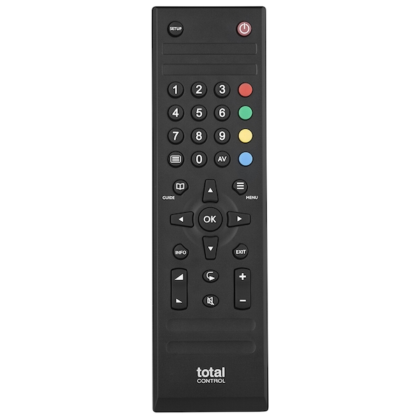 Total Control URC1715 Universal Remote Control for TV