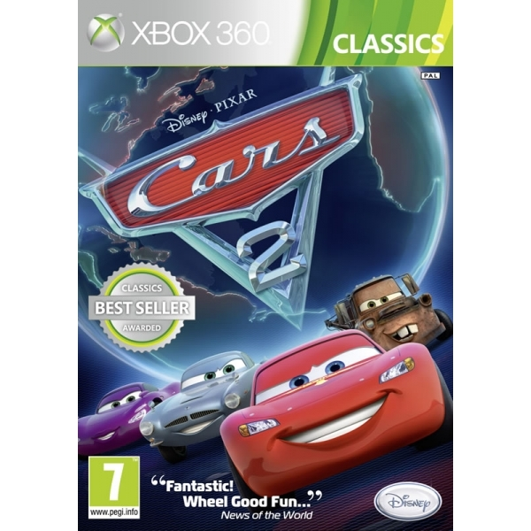 Cars 2 The Video (Classics) Game Xbox 360