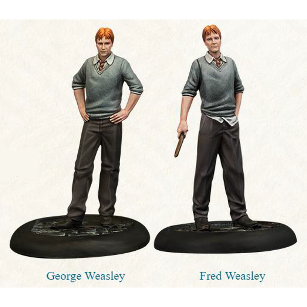 Harry Potter Miniatures Adventure Game Fred and George Weasley Expansion Board Game