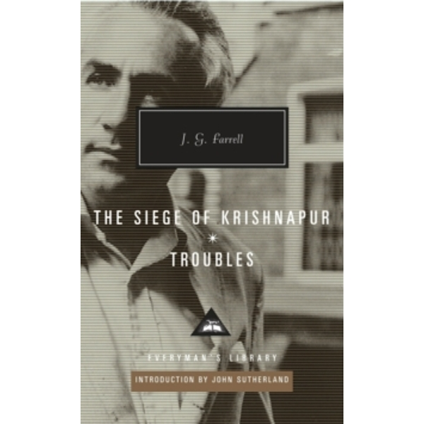 Troubles / The Siege of Krishnapur by J.G. Farrell (Hardback, 2012)
