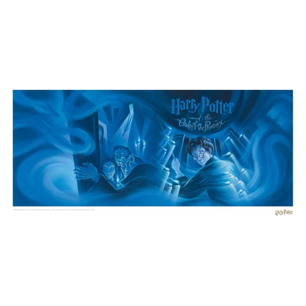 Harry Potter Art Print Order of the Phoenix Book Cover Artwork Limited Edition 42 x 30 cm