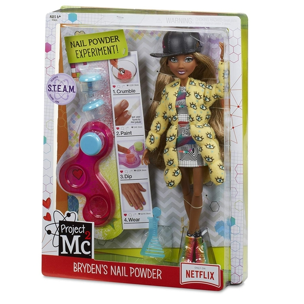 Project Mc2 Experiments With Doll Bryden's Nail Powder