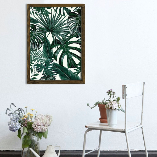 MZM748 Multicolor Decorative Framed MDF Painting