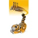 EUGY Tiger 3D Craft Kit - Image 3