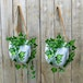 Hanging Wall Planters - Set of 2 | M&W - Image 2