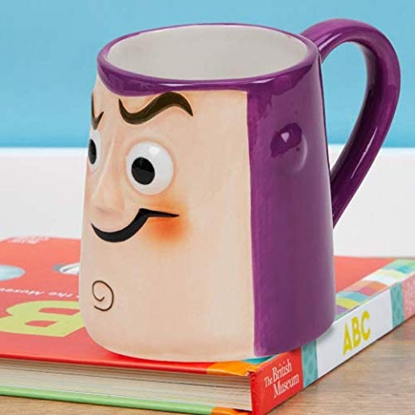 Disney Toy Story 4 Buzz Lightyear 3D Earthenware Mug