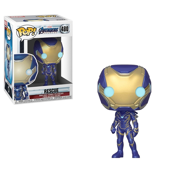 Rescue (Marvel Avengers Endgame) Funko Pop! Bobble Head Vinyl Figure #480
