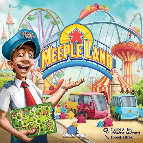 Meeple Land Board Game