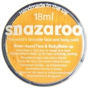 Snazaroo Make-Up 18ml Body & Face Paint Classic Bright Yellow