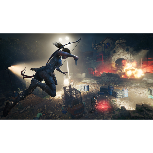 Shadow Of The Tomb Raider PS4 Game + I Love Tombs Patch - Image 3