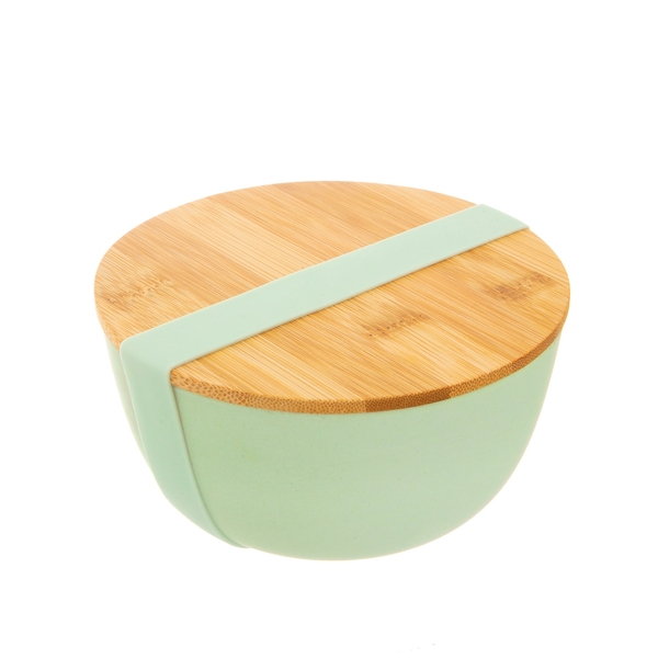 Sass & Belle Mint Green Bamboo Bowl with Lid