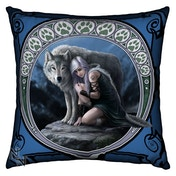Anne Stokes Protector Wolves Cushion Large