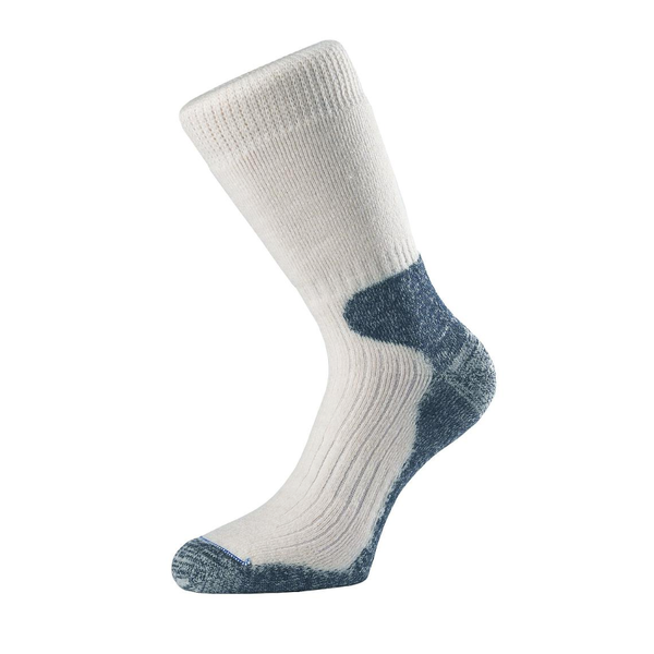 1000 Mile Lightweight Cricket Socks Grey Large