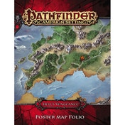 Pathfinder Campaign Setting: Hell S Vengeance Poster Map Folio