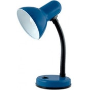 Lloytron Flexi Table Lamp Desk Light with Flexible Neck Navy Blue UK Plug