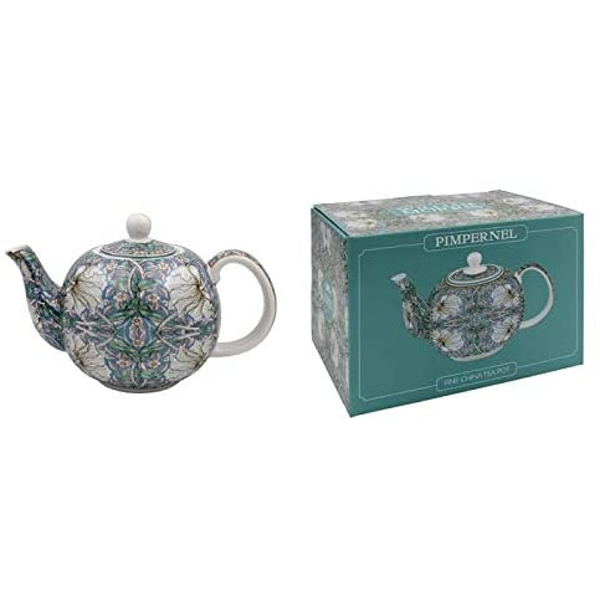 William Morris Pimpernel Tea Pot By Lesser & Pavey
