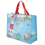 Seaside Design Durable Reusable Shopping Bag