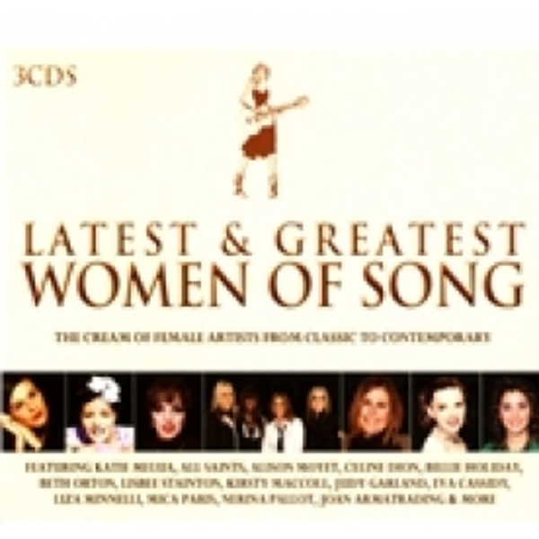 Latest & Greatest Women Of Song CD