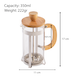 Bamboo French Coffee Press | M&W - Image 5