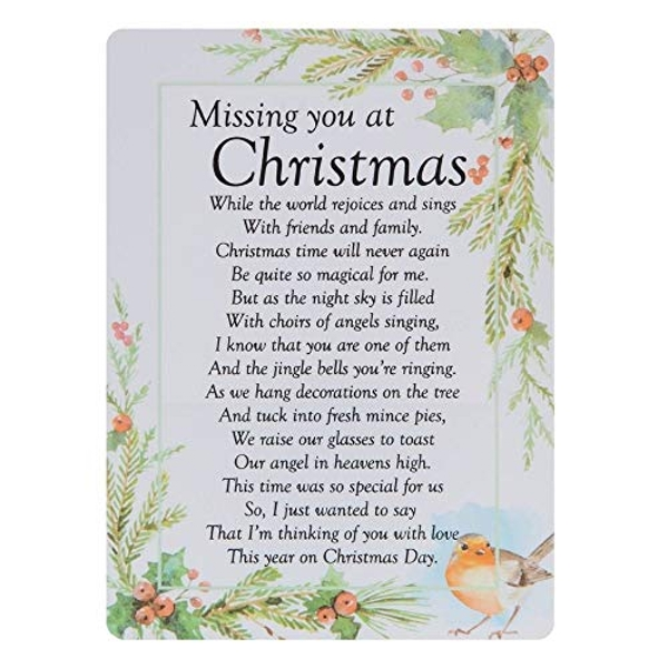 Graveside Memorial Cards - At Christmas