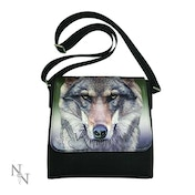 Portrait of a Wolf Crossbody Bag