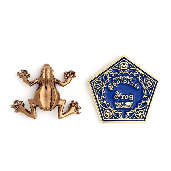 Harry Potter Chocolate Frog Pin Badge