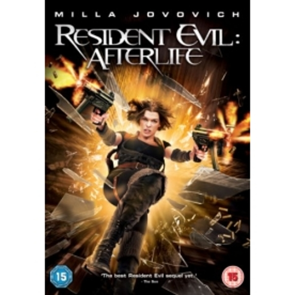 Resident Evil Afterlife DVD