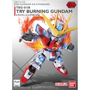 Sd Gundam Try Burning Ex Std 011 Bandai Model Kit