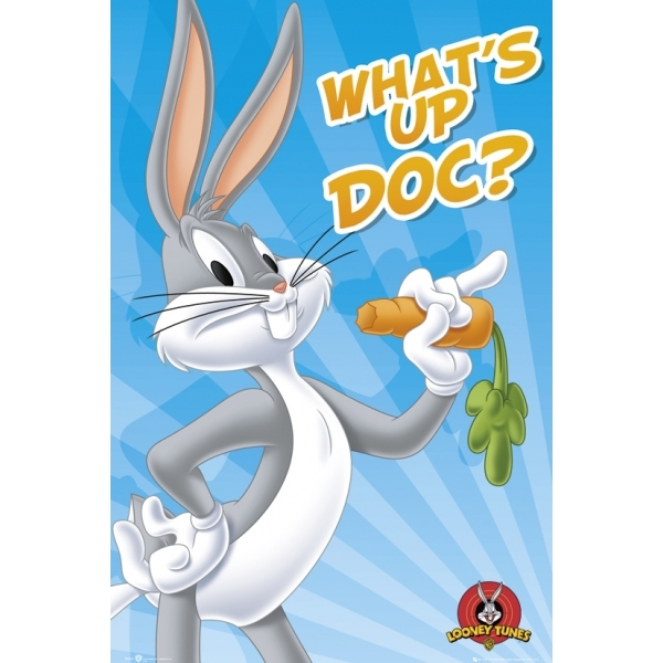 Looney Tunes Bugs Bunny Maxi Poster