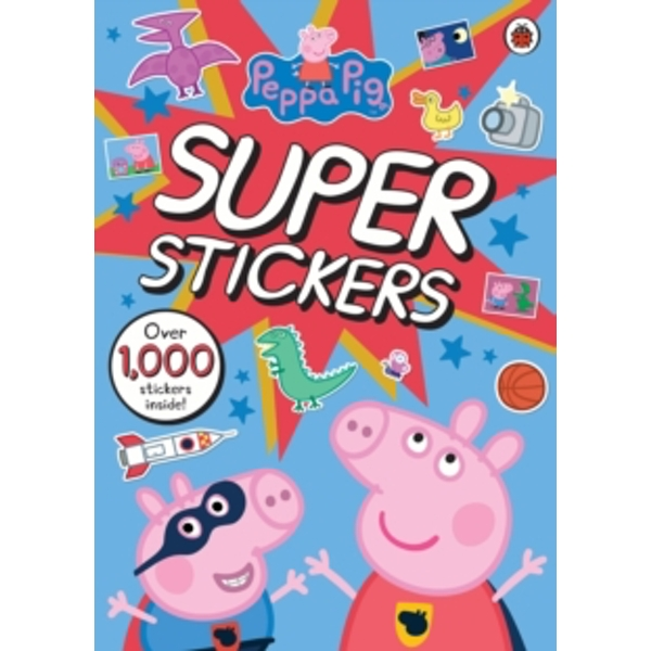 Peppa Pig Super Stickers Activity Book by Penguin Books Ltd (Paperback, 2016)