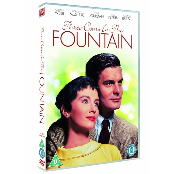 Three Coins in the Fountain  DVD