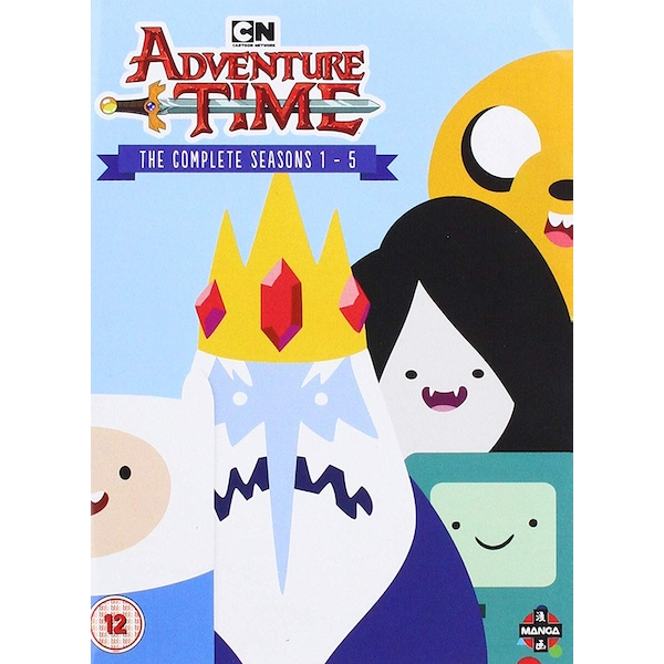 Adventure Time - Complete Seasons 1-5 DVD
