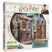 Wrebbit 3D Harry Potter Diagon Alley Jigsaw Puzzle - 450 Pieces